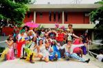 Bloco de Carnaval da Escola de Teatro anima campus da Faetec Quintino