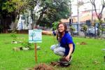 FAETEC realiza plantio de 40 mudas de árvores da Mata Atlântica, na unidade de Quintino Bocaiúva
