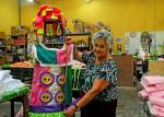 Profissionais formados pela FAETEC utilizam a reciclagem para fazer Carnaval sustentável