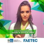 Estudante da Faetec é premiada com medalha de bronze na olimpíada brasileira de matemática