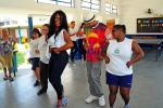 Faetec promove curso de samba no pé para alunos da Escola Especial Favo de Mel